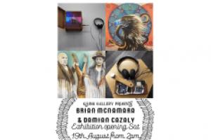 Joint Show – Damian Cazaly and Brian McNamara