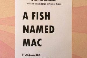 """A Fish Named Mac"" by Gašper Jemec"