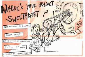"""Where's Your Helmet, Sweetheart?"" by Kitt Bennett & Goodie"