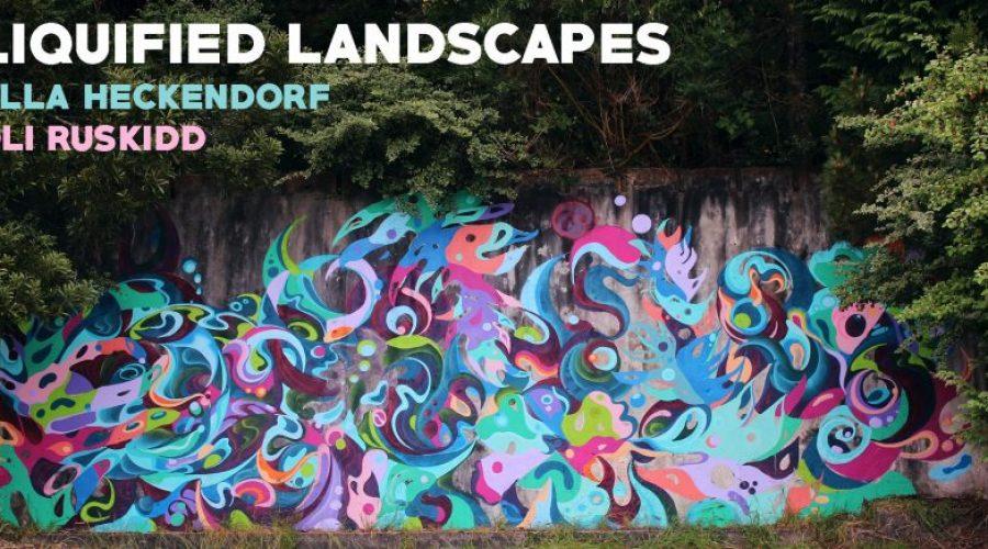 Melbourne Art Show: Liquified Landscapes – Oli Ruskidd & Ella Heckendorf